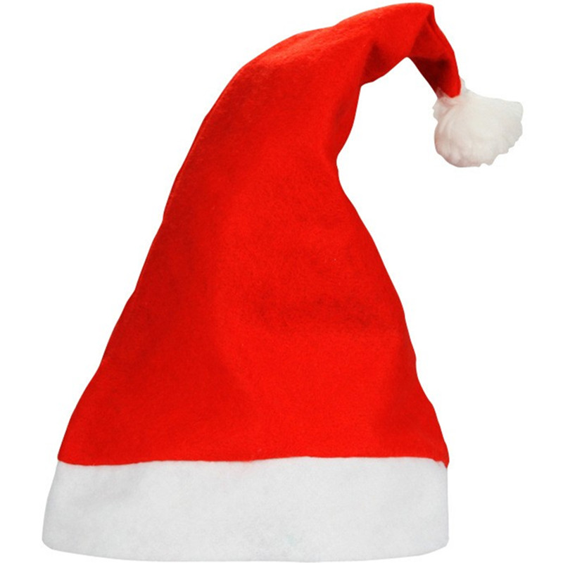 цена на New Year Adult And Children Christmas Hat Caps Santa Claus Father Xmas Cap Christmas Decoration Gift High Quality Kids Gift