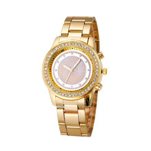 Luxury Brand Woemn Watches Fashion Watch Women Girl Unisex Stainless Steel Rose Gold Quartz Wrist Watch Montre femme
