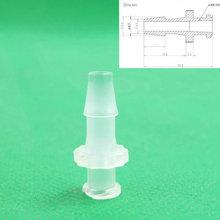 Упаковка из 10x3/16inch-Barb luer зауженные шприц установки(polyprop), Луер Блокировка Конические Разъем