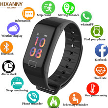 Smart band Blood Pressure Waterproof Color Screen Sports Smart Bracelet Heart Rate Monitor Smart Wristband Men Women(China)