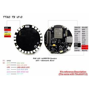 Image 2 - TAudio V1.2 ESP32 WROVER SDMPU9250 гироскоп 9 Axis Сенсор WM8978