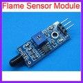 10 unids/lote Módulo de Detección de Módulo de Sensor de Llama de Fuego