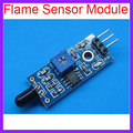 10pcs/lot Flame Sensor Module Fire Detection Module