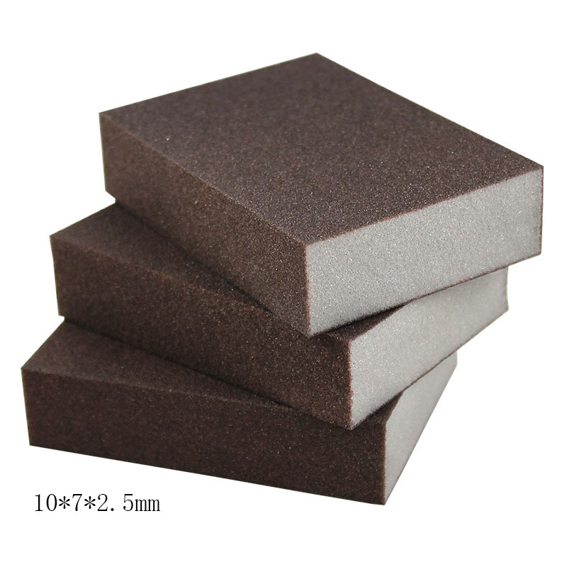 2pcs 100*70*25mm High Density Nano Emery Magic Melamine Sponge For Cleaning Homeware Kitchen Sponge Removing Rust Rub