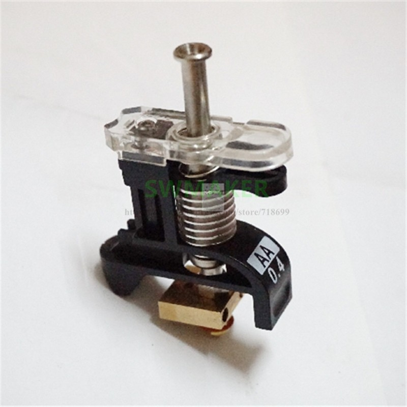 2pcs 3D Printer Replacement Spare Parts Print Brass Nozzle 0.4mm for 3.0mm Ultimaker3 Ultimaker 3 Extended Ultimaker S5 3D Printer