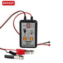 Tüm güneş profesyonel EM276 enjektör test cihazı 4 Pluse modları güçlü yakıt sistemi tarama aracı EM276 enjektör test cihazı
