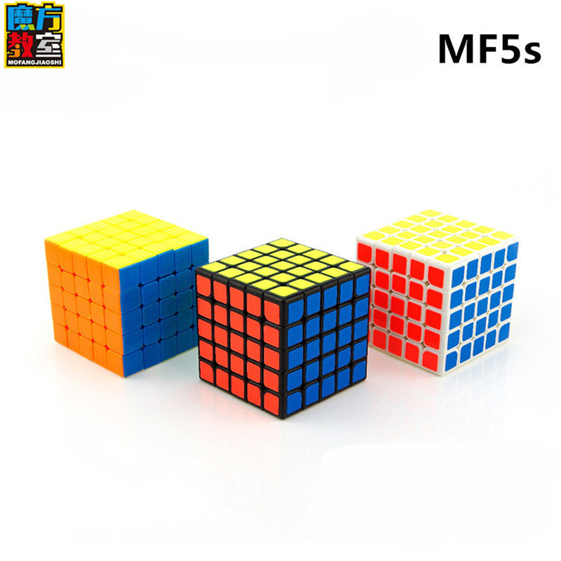 MOYU MF5S 5X5X5 CUBE Professional game Rubik's Cube 5 by 5 cubes for children Rubik's speed cube 64*64mm
