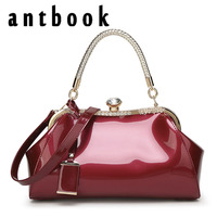 ANTBOOK High Quality Solid Women Handbags 2017 New Brand Designer Fashion Women Shoulder Bags Ladies Diamonds