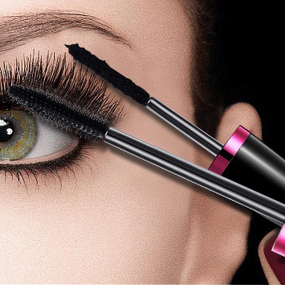 8957d78473c False eyelashes + Mascara 3D Fiber Makeup eyelashes Lengthening mascara  Volume Express Eyelash