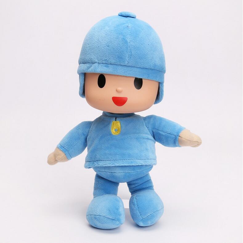 POCOYO Cartoon Stuffed Animals & Plush Toys & Hobbies Elly & Pato & POCOYO & Rura Dog Plush Toy Free Shiping