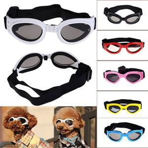 New Attractive Pet Dog Sunglasses Sun Glasses Glasses Goggles Eye Wear Protection Dress Up Multi-Color Water-Proof Boom Cool