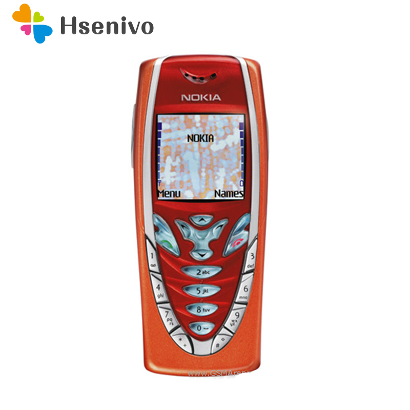 7210 Original Nokia 7210 Mobile Phone Old Cheap Phone Orange