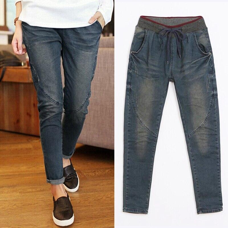 Fashion   Jeans   woman large size women pants slim   jeans   woman skinny trousers lady XL-5XL   Jeans   plus size   jeans   for woman