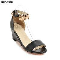 New Fashion Bohemia Style Women Sandals Ankle Strap Sandal Women Wedges Heel Women Shoes High Heels