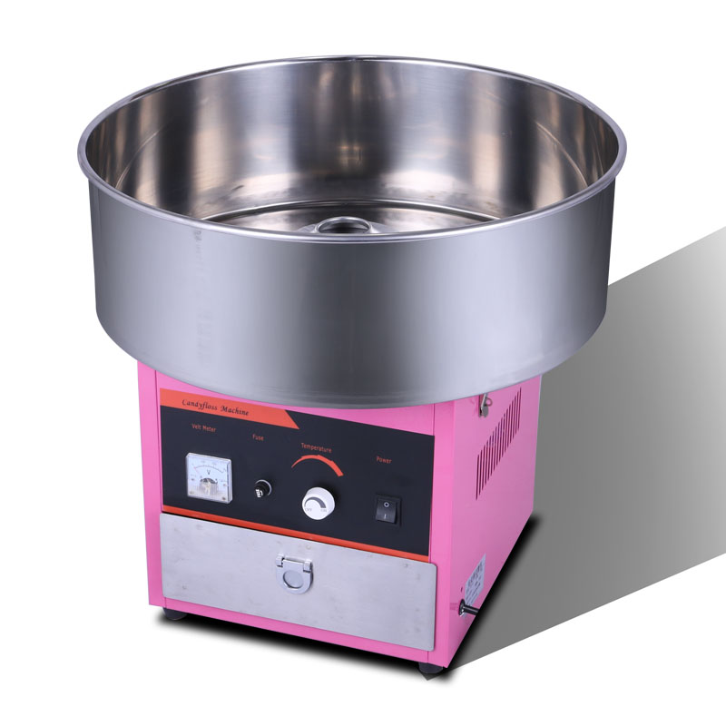 220V Commercial Electric Cotton Candy Maker Automatic Sweet Cotton Candy Machine Sugar Fancy Cotton Candy Maker EU/AU/UK/US plug