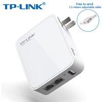 TP-Link Router WiFi 2.4G WiFi Repetidor TP ENLACE 150 M de Mini Router Inalámbrico TL-WR720N 802.11b VPN de Viaje compañero de Routers