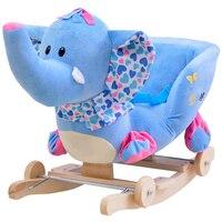 Детское кресло плюшевая лошадка игрушка детское кресло качалка детское качели сиденье дети на открытом воздухе Катание на игрушке качалка