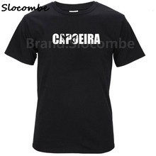 2018 Capoeira Rythms Boy 100% Cotton Short Sleeve O-Neck T shirt Teens Garment 2017 Graphic T-shirt For Men(China)