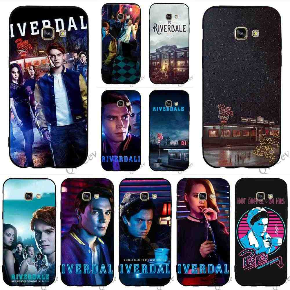 Slim Archie Betty Veronica Riverdale Phone Cover for Samsung Galaxy S6 Edge Case A5 A3 A6 S7 S8 S9 Plus Note 8 9 Cases Skin