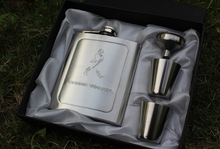 1SET Whisky Flagon Alcohol Hip Flask Stainless Steel Wine Pot Set High Quality Portable Bottle as Gift JZ 1101