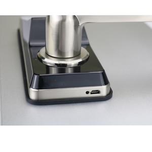 Image 5 - Electronic Fingerprint Door Lock Digital Smart Door lock unlock by Fingerprint ,Code, Card, and Mechanical key with 2 cards