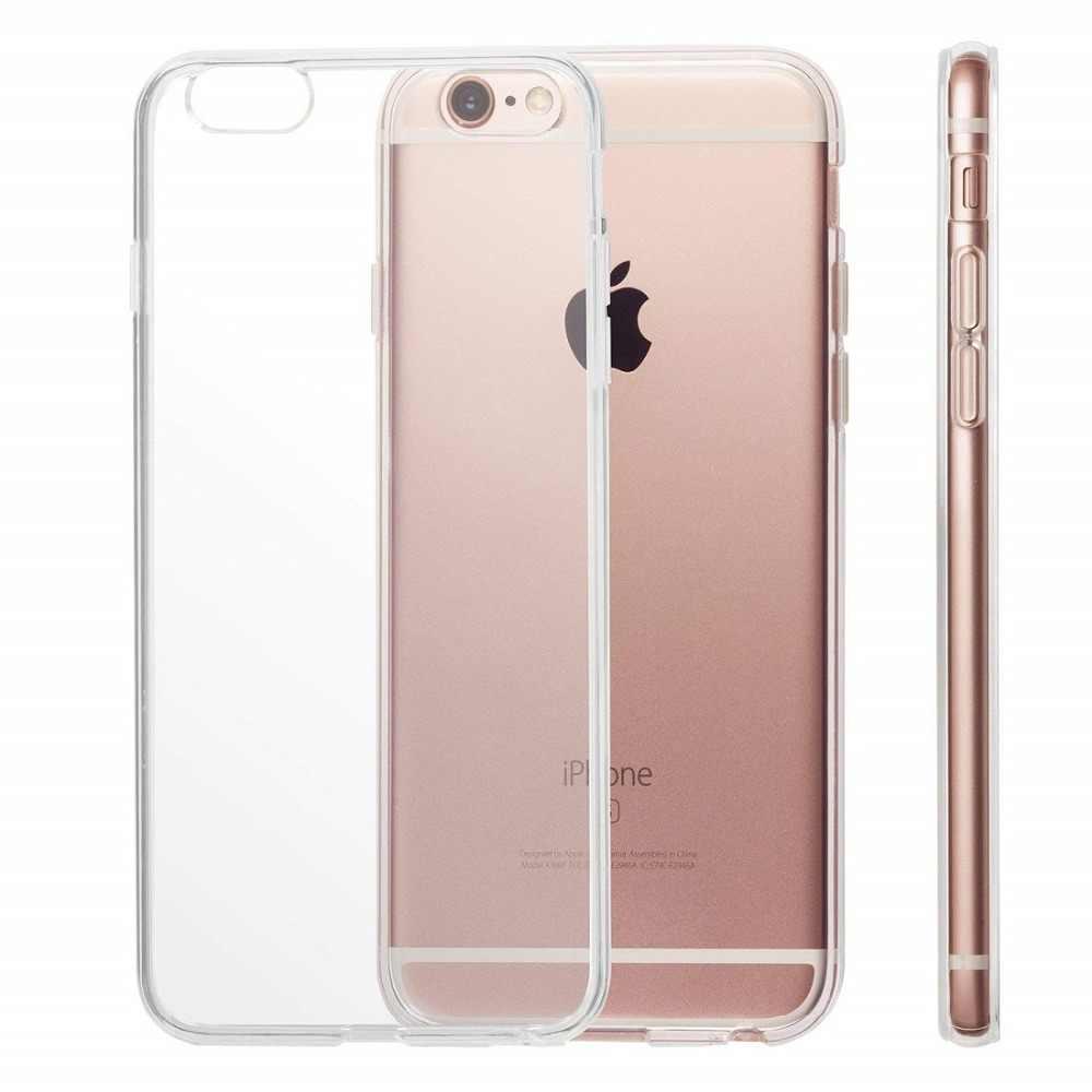 Ультратонкий прозрачный ТПУ силиконовый чехол для iPhone XS MAX XR 6 7 6S Plus защитный резиновый чехол для телефона для iPhone 8 7 Plus