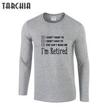 Tarchia hombre t-shirt soy casual manga larga hombres camiseta de impresión slim  fit Camiseta de algodón más hombres tamaño Cami. 42b0033009d