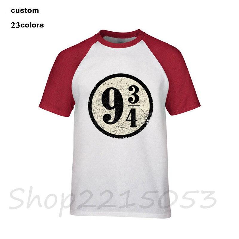 HTB1fNbDadjvK1RjSspiq6AEqXXau - 2019 streetwear Platform nine three quarters Harryy Men funny T-Shirt black whtie clothes Potter male t shirt slipknot tshirt