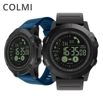 COLMI Men Smart Watch 5ATM Waterproof Pedometer Calorie Call/Message Reminder Remote Camera Sport Smartwatch for Android iOS Smart Watches