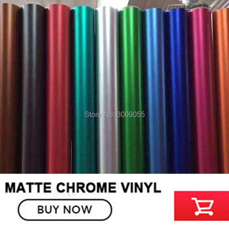 Image 2 - make small profits But quick turnove Car styling Matte Chrome Ice Vinyl Film  Matte Chrome Vinyl Wrap Auto film any size-in Car Stickers from Automobiles & Motorcycles