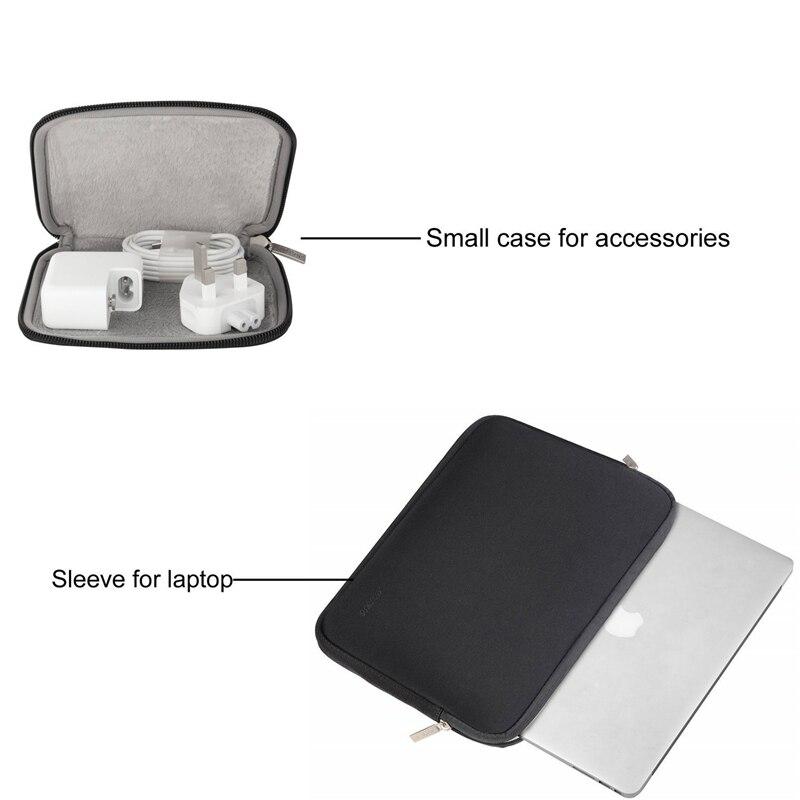 שליכט אקרילי MOSISO Waterproof נייד תיק שרוול עבור Xiaomi MacBook Pro 13 Case אויר 11 12 Retina 2018 מחברת ניו 15 Touch בר תיקי נשים קאש (2)