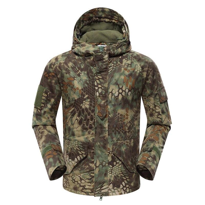 Mandrake US armée militaire G8 tactique Airsoft veste à capuche manteau polaire chasse veste d'extérieur avec plusieurs poches