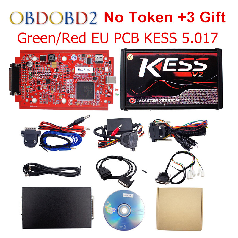 Online Master KESS V5.017 V2.23 Red PCB Manager Tuning Kit For Car/Truck/Tractor