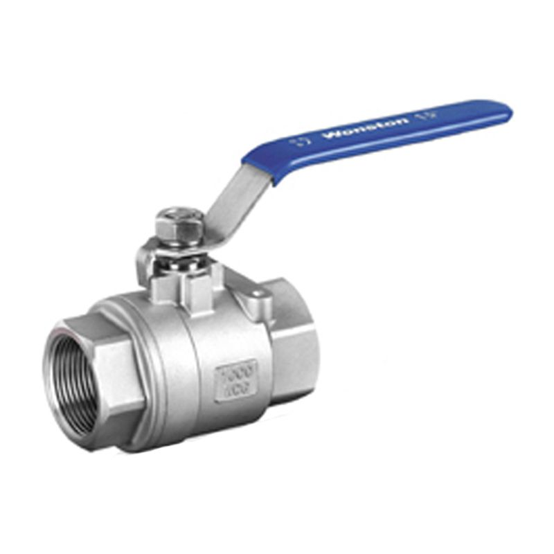 1 Female Thread 2 Way 304 Stainless Steel DN25 two pieces Ball Valve Full Port for Water Gas Oil Control