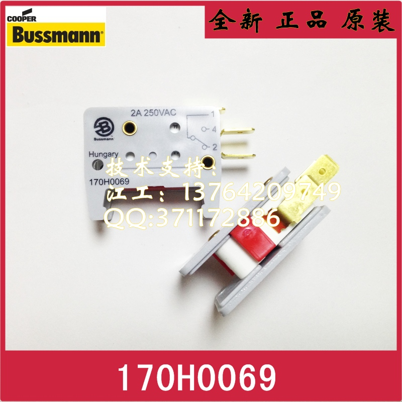 [SA]BUSSMANN 170H0069 170M Cube micro switch K type fuse indication--5PCS/LOT гитарный усилитель roland micro cube gx red