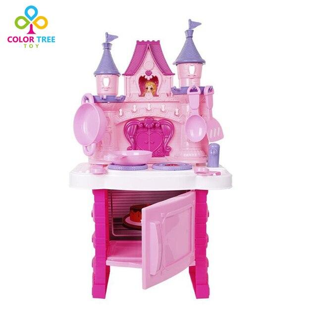 children pretend toys royal princess castle kitchen cook & bake with