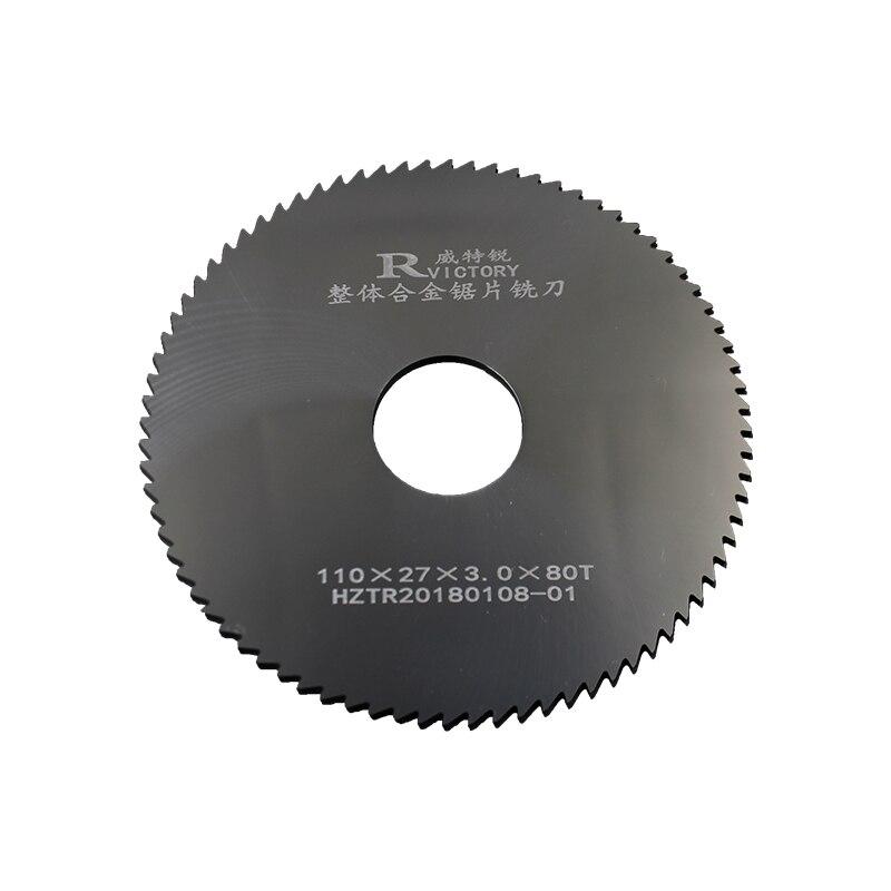 2Pcs Saw Blades Tungsten Steel Diameter 110mm Circular Saw Blades Cutting Tool High Quality