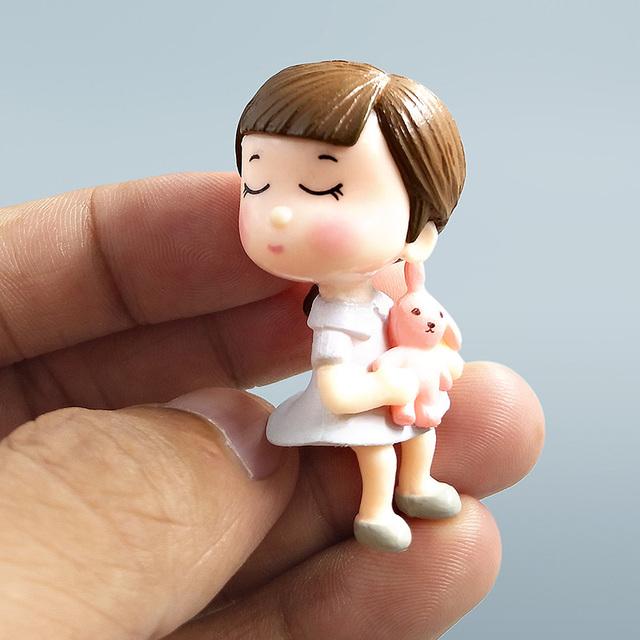 Wedding Doll Figurines Miniatures For Garden decoration