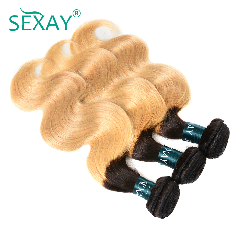 Tips Sexay Pre Colored Blonde Brazilian Human Hair Weave 3