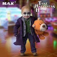 Na całym świecie pudełko na kolekcja 1/6 Lakor dla dzieci Joker 2.0 Joker chłopiec model figurki figurka pełny zestaw 15 cm lalki