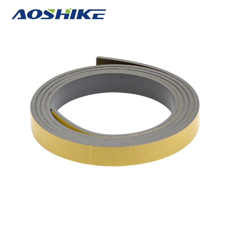 AOSHIKE 1M Magnetic Stripe 10*2MM Rubber Magnets Paste Sided Adhesive Can Cut All Kinds Of Shapes DIY Magnetic Tape For School exerpeutic 1000 magnetic hig capacity recumbent exercise bike for seniors