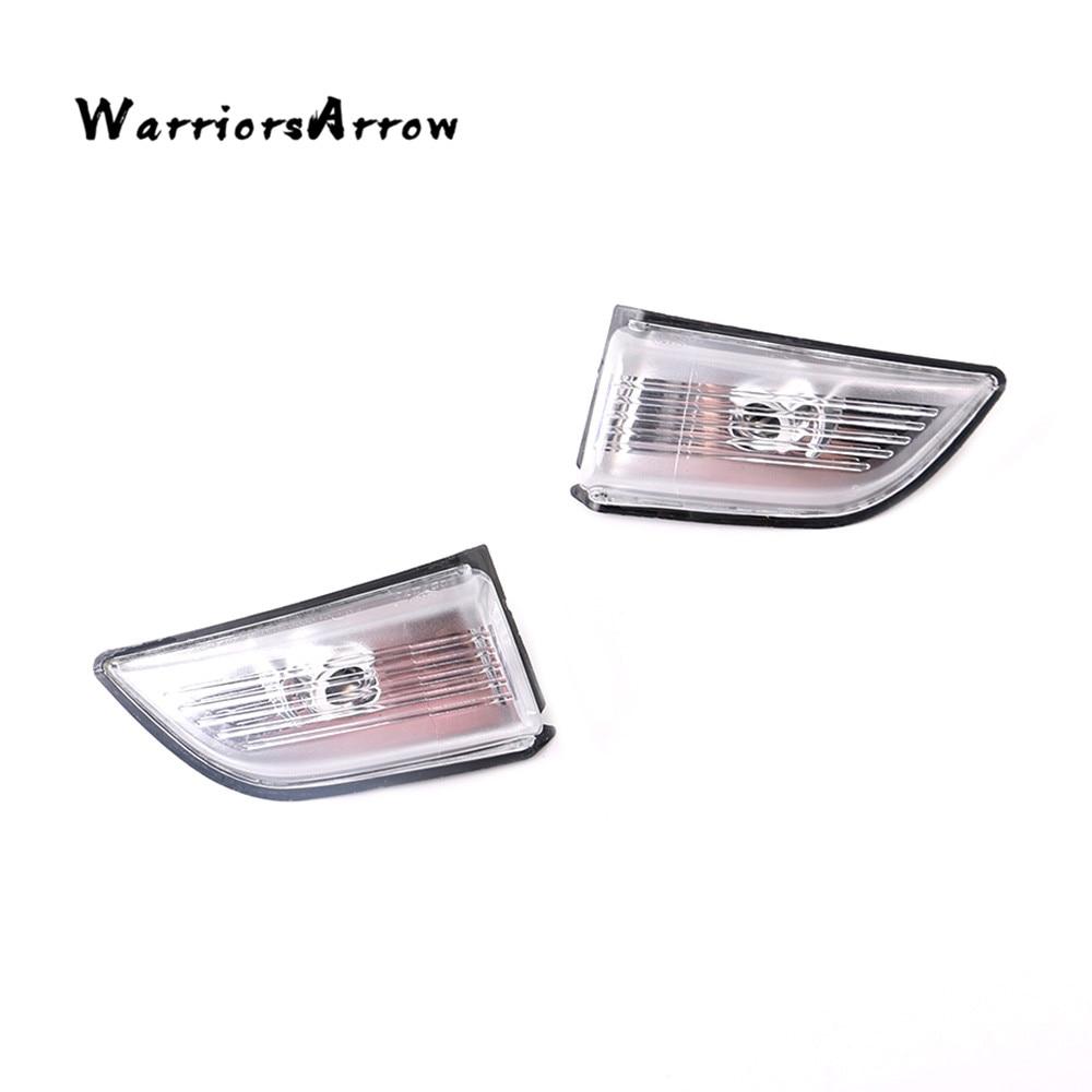 WarriorsArrow Pair Front L R Wing Mirror Turn Signal