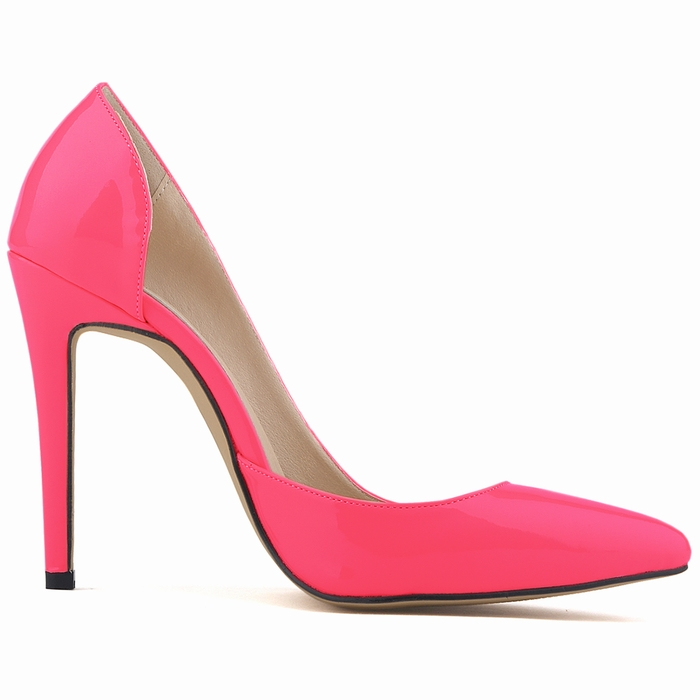 Classic Sexy Patent Leather High Heels Women Pumps Shoes Spring Brand Design Wedding Shoes Pumps 20 Colors Size 35-42 302-18PA sexy pointed toe high heels women pumps shoes new spring brand design ladies wedding shoes summer dress pumps size 35 42 302 1pa