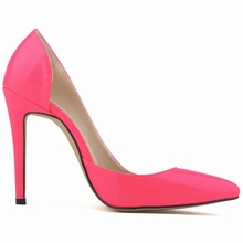 Classic Sexy Patent Leather High Heels Women Pumps Shoes Spring Brand Design Wedding Shoes Pumps 20 Colors Size 35-42 302-18PA