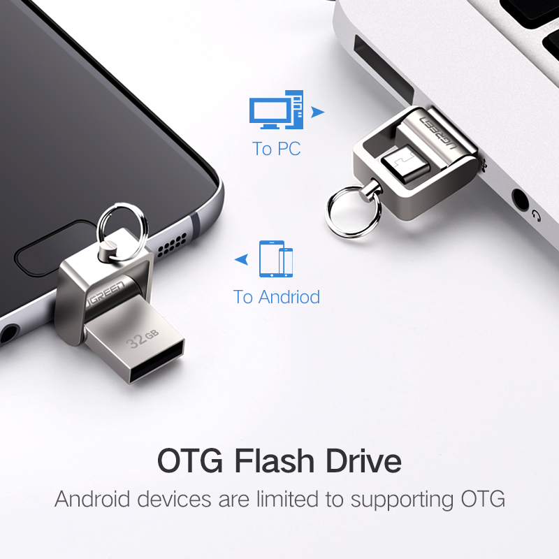 Mini Clé USB 2.0 OTG en métal