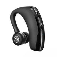 New V9 Handsfree Business Bluetooth Headset With Mic Voice Control Wireless Bluetooth Earphone Headphone Sports Music