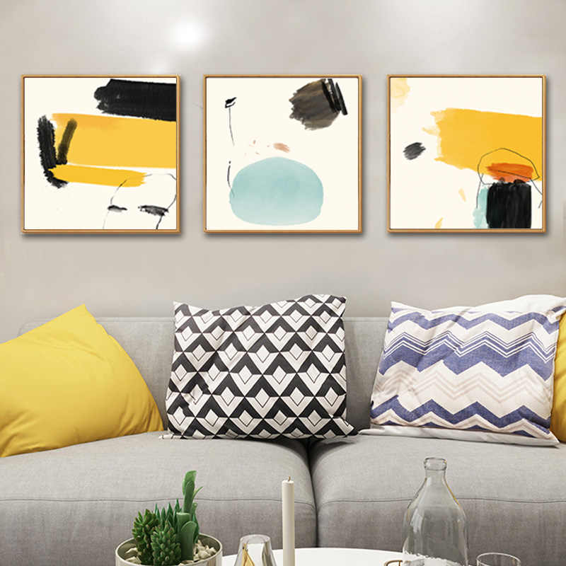 Fashion Abstract Wall Art Canvas Paintings Posters and Prints POP Pictures Oil Paintings on Canvas for Living Room Home Decor
