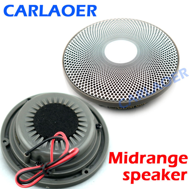 US $61 94 38% OFF|Car Midrange Speaker 3 5 Inch Vehicle Door Auto Audio  Music Stereo Full Range Frequency Hifi Loudspeaker SOFT DOME Mid Range -in