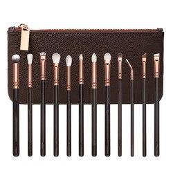 Rose Golden Complete Eye Makeup Brush Set Brand 100%New 1:1 Brushes