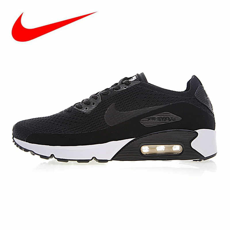 ef406e31a1206 Nike Air Max 90 Ultra 2.0 Flyknit Men's Running Shoes, Breathable  Lightweight Non-slip